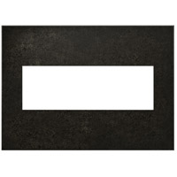Legrand Adorne Cast Metals 3-Gang Wall Plate in Dark Burnished Pewter AWC3GDP4