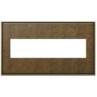 Legrand AWC4GAB4 Adorne Aged Brass Wall Plate 4-Gang