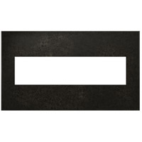 Legrand Adorne Cast Metals 4-Gang Wall Plate in Dark Burnished Pewter AWC4GDP4 photo thumbnail