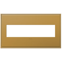 Legrand Adorne Cast Metals 4-Gang Wall Plate in Antique Bronze AWC4GNB4