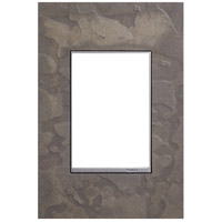 Legrand AWM1G3HFBS1 Adorne Burnished Steel Wall Plate 1-Gang