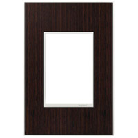 Legrand AWM1G3WE4 Real Materials Wenge Wall Plate