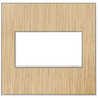 Legrand Adorne Real Materials 2-Gang Wall Plate in French Oak AWM2GFH4
