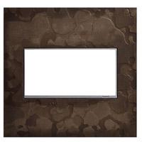 Legrand AWM2GHFDS1 Adorne Dark Smoke Wall Plate 2-Gang