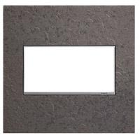 Legrand AWM2GHFFE1 Adorne Natural Iron Wall Plate 2-Gang