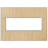 Legrand Adorne Real Materials 3-Gang Wall Plate in French Oak AWM3GFH4