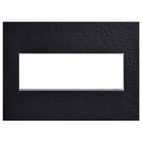 Legrand AWM3GHFBK1 Adorne Black Wall Plate 3-Gang