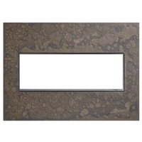 Legrand AWM3GHFBS1 Adorne Burnished Steel Wall Plate 3-Gang
