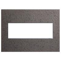 Legrand AWM3GHFFE1 Adorne Natural Iron Wall Plate 3-Gang