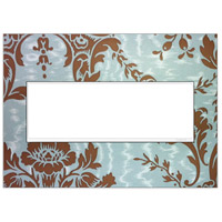 Adorne White Wall Plate, 3-Gang