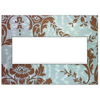Legrand AWM3GW4 Adorne White Wall Plate, 3-Gang