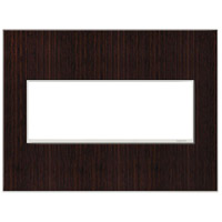 Legrand Adorne Real Materials 3-Gang Wall Plate in Wenge AWM3GWE4