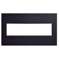 Legrand AWM4GHFBK1 Adorne Black Wall Plate 4-Gang