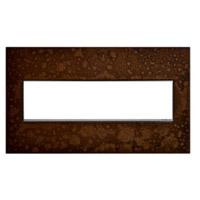 Legrand AWM4GHFBR1 Adorne Bronze Wall Plate 4-Gang