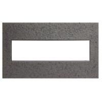 Legrand AWM4GHFFE1 Adorne Natural Iron Wall Plate 4-Gang