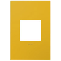 Legrand Adorne Plastics 1-Gang Wall Plate in Honey AWP1G2HY6