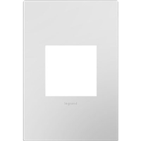 Legrand AWP1G2PW4 Adorne Powder White Wall Plate, 1-Gang
