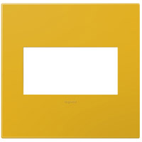Legrand Adorne Plastics 2-Gang Wall Plate in Honey AWP2GHY4