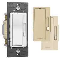 Legrand RH703PTC Radiant Single Pole 3-Way Dimmer, Tri-Color
