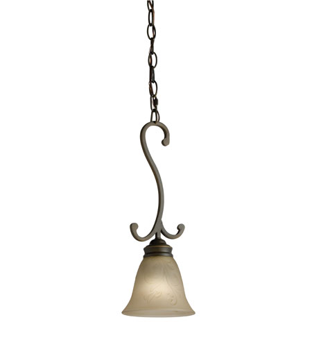 Lithonia Lighting Priscilla Mini-Pendant in Antique Bronze 10720-BZA photo