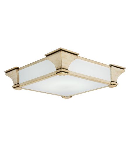 Lithonia Lighting Venetian Flushmounts in Vanilla Champagne 10819-VCH photo