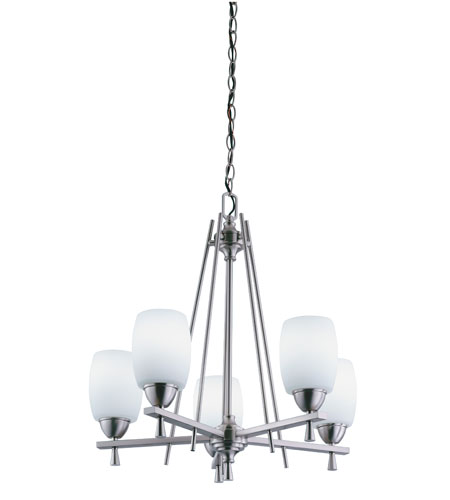 Lithonia Lighting Ferros Chandeliers in Brushed Nickel 11535-BN photo