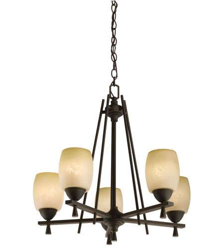 Lithonia Lighting Ferros Chandeliers in Antique Bronze 11535-BZA photo