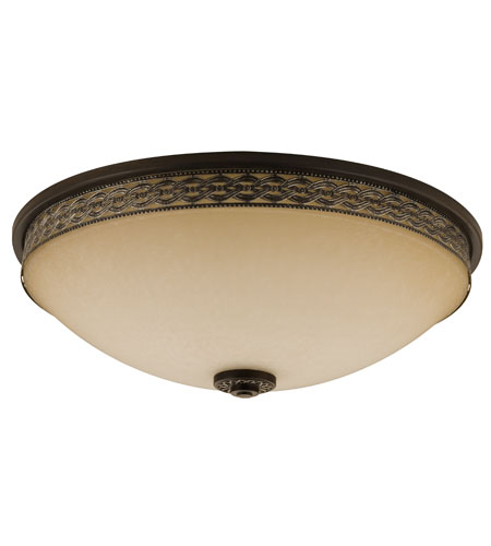 Lithonia Lighting Montague Flushmounts in Bronze-Silver 11570-BZS photo