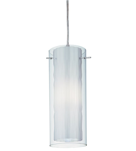 Lithonia Lighting Zentros Mini-Pendant in White Glass 11990-GW photo