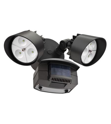 lithonia lighting led floodlight 2 light motion sensor in black bronze. Black Bedroom Furniture Sets. Home Design Ideas