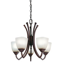Lithonia Lighting Piedmount Chandeliers in Antique Bronze 10865-BZA