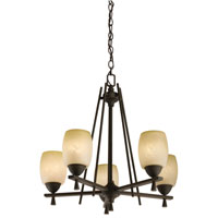 Lithonia Lighting Ferros Chandeliers in Antique Bronze 11535-BZA