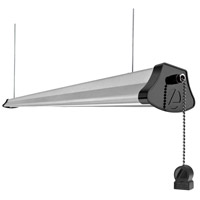 Shoplight LED 4 inch Silver Suspended Linear Ceiling Light