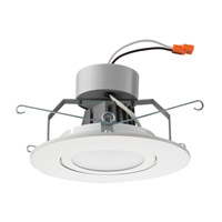 Lithonia Lighting Gimbal 6 in. LED Recessed Downlighting Module in White with White Acrylic Shade 6G1MW-LED-M6
