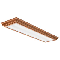 Signature LED 14 inch Matte Oak Flush Mount Ceiling Light