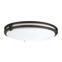 Lithonia Lighting Saturn LED Flushmount 4000K in Bronze 219N8G
