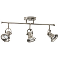 Flare Skirt 3 Light 120V Brushed Nickel Track Kit Ceiling Light, Fixed