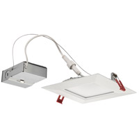 Lithonia Lighting WF6-SQ-B-LED-35K-MW-M6 Wafer Integrated LED board Matte White Recessed Light