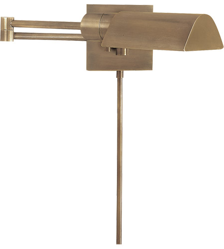 Visual Comfort Studio 1 Light Swing-Arm Wall Light in Antique Nickel 92025AN - Open Box  photo