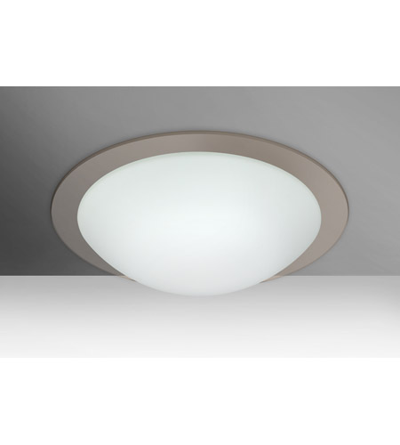 Besa Lighting White Flush Mounts