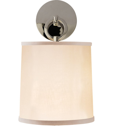 Visual Comfort Barbara Barry French Cuff 1 Light Decorative Wall Light in Polished Nickel BBL2035PN-S - Open Box  photo