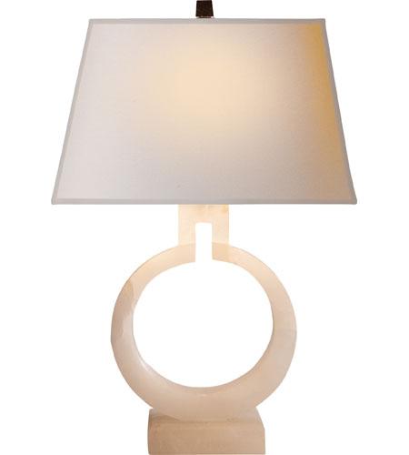 Chart House 20 Inch 75 Watt Alabaster Table Lamp Portable Light