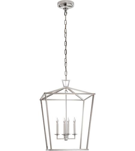Visual Comfort E F Chapman Darlana 4 Light Foyer Lantern In Polished Nickel Chc2165pn Open Box