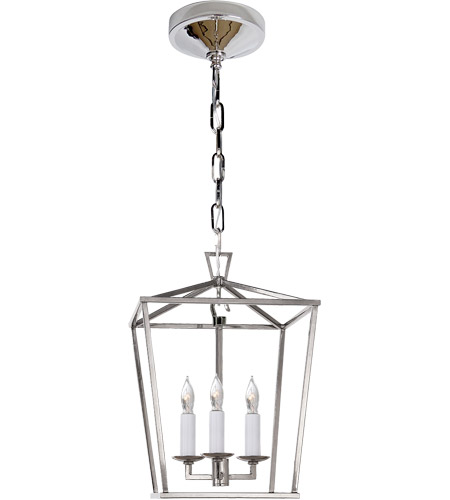 Visual Comfort E.F. Chapman Darlana 3 Light 10 inch Polished Nickel Foyer Pendant Ceiling Light CHC2175PN - Open Box  photo