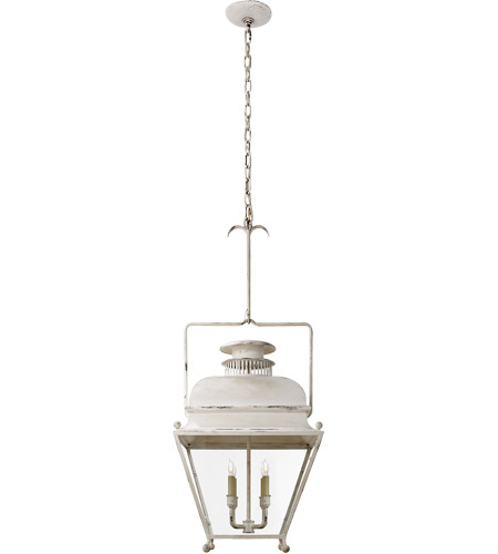 Visual Comfort E. F. Chapman Holborn 4 Light 18 inch Old White Pendant Ceiling Light CHC2216OW - Open Box  photo