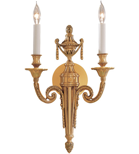 Metropolitan R N1789 Signature 2 Light 10 Inch Polished Gold Ada Wall Sconce Open Box