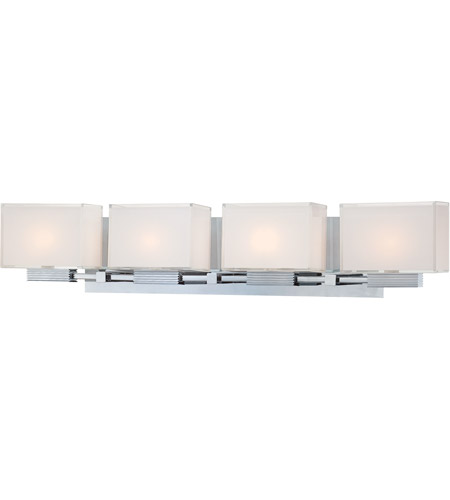 Chrome Cubism Bathroom Vanity Lights