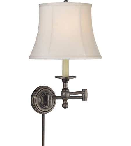 Visual Comfort E. F. Chapman Classic 19 inch 100 watt Bronze Swing-Arm Wall Light SL2800BZ-S - Open Box  photo