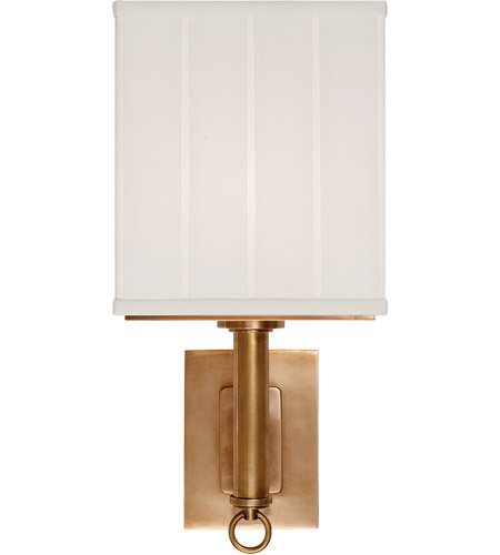 Visual Comfort Thomas OBrien Germain 1 Light 7 inch Hand-Rubbed Antique Brass Decorative Wall Light in (None) TOB2131HAB-S - Open Box  photo