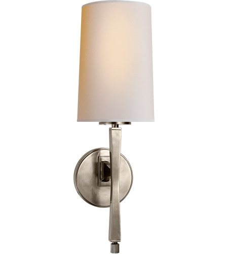Visual Comfort Thomas Obrien E 1 Light 6 Inch Antique Nickel Decorative Wall In None Tob2740an Np Open Box